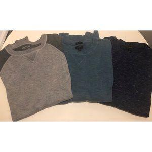Bundle men's cotton sweaters